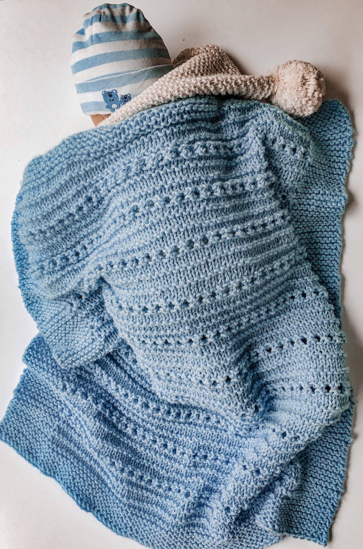 How To Knit A Cuddly Soft Baby Blanket Candyloucreations