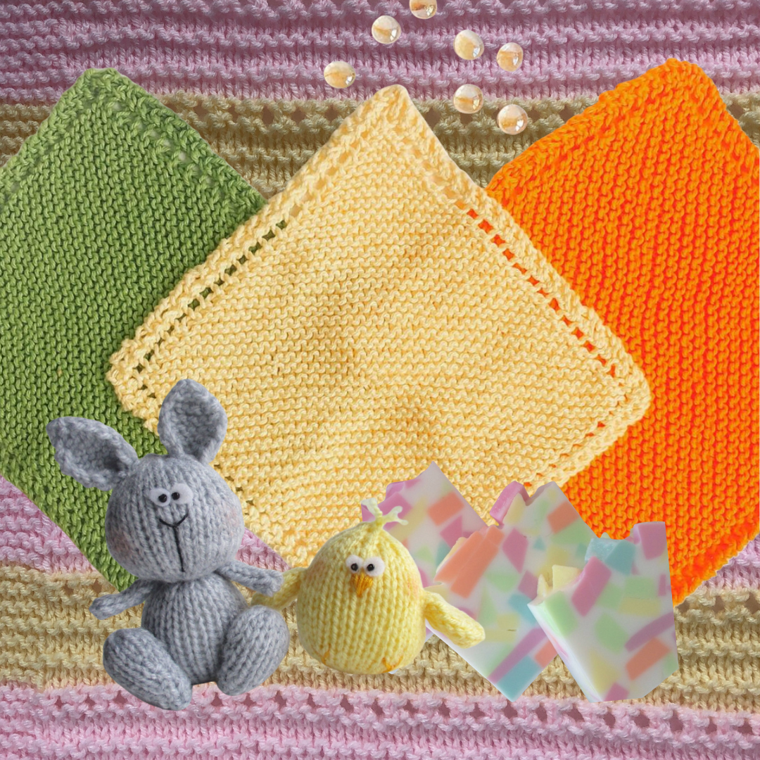 Baby Washcloth Pattern Washcloth Knitting Patterns Candyloucreations