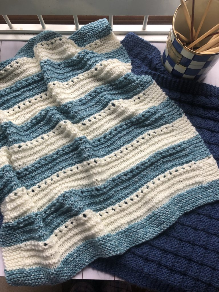 Knittingcuddly Soft Baby Blanket Pattern Candyloucreations Knitting Blog